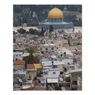 Temple Mount and Dome of the Rock Posters