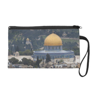 Temple Mount and Dome of the Rock Wristlet Purses
