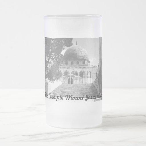 Temple Mount Jerusalem Mug