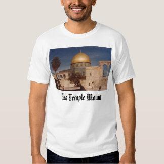 Temple Mount Jerusalem, The Temple Mount Tee Shirts