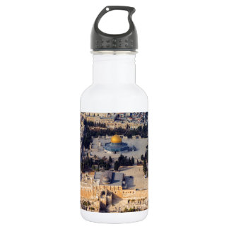 Temple Mount Old City Jerusalem Dome of the Rock 532 Ml Water Bottle