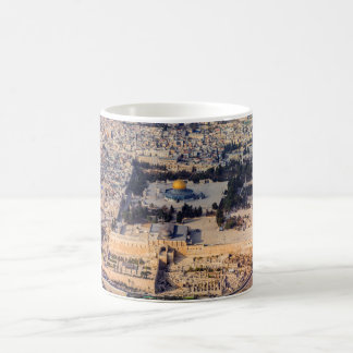 Temple Mount Old City Jerusalem Dome of the Rock Basic White Mug