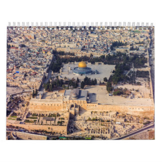Temple Mount Old City Jerusalem Dome of the Rock Calendars