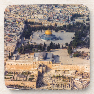 Temple Mount Old City Jerusalem Dome of the Rock Coasters
