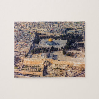 Temple Mount Old City Jerusalem Dome of the Rock Jigsaw Puzzle