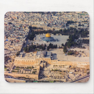 Temple Mount Old City Jerusalem Dome of the Rock Mouse Mat