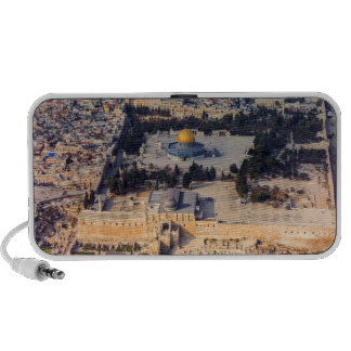Temple Mount Old City Jerusalem Dome of the Rock Speakers