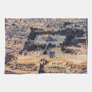 Temple Mount Old City Jerusalem Dome of the Rock Towels