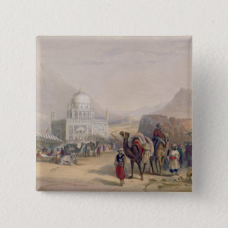 Temple of 'Ahmed Shauh', King of Afghanistan, Kand 15 Cm Square Badge