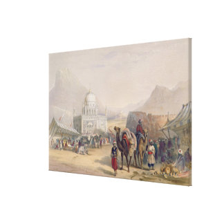 Temple of 'Ahmed Shauh', King of Afghanistan, Kand Canvas Print