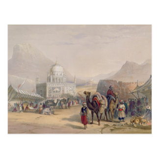 Temple of 'Ahmed Shauh', King of Afghanistan, Kand Postcard