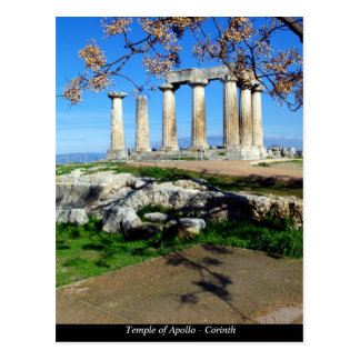 Temple of Apollo – Corinth Postcard