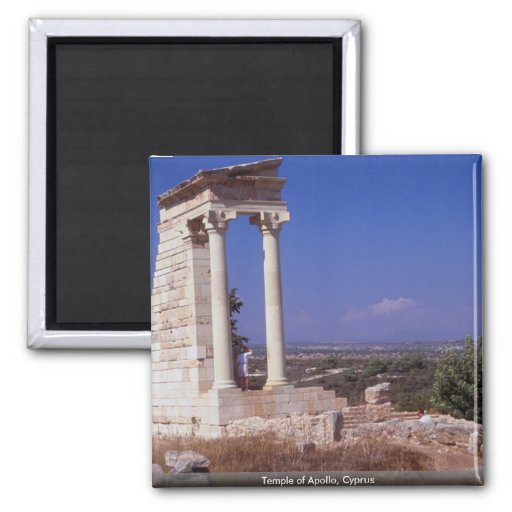 Temple of Apollo, Cyprus Magnets