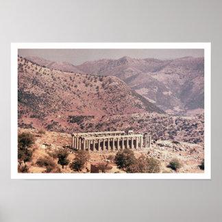 Temple of Apollo Epikourios, c.450-20 BC Poster