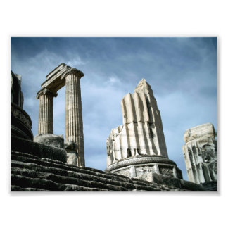 Temple Of Apollo, Turkey Photo Print