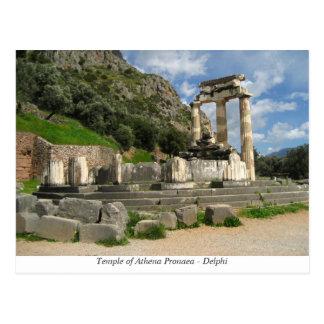 Temple of Athena Pronaea - Delphi Postcard