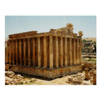 Temple of Bacchus Postcard