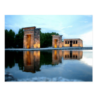 Temple of Debod - Madrid Postcard