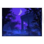 Temple of Diana in the Moonlight Greeting Card