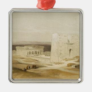 Temple of Edfu, ancient Apollinopolis, Upper Egypt Christmas Ornament
