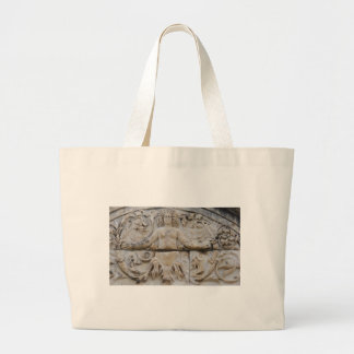 Temple of Hadrian, MEDUSA -  Picture of Medusa Large Tote Bag