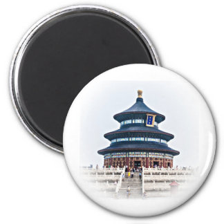 Temple of Heaven Refrigerator Magnet