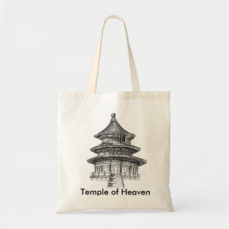 Temple of Heaven Tote Budget Tote Bag