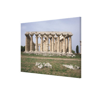 Temple of Hera I Canvas Print