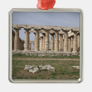 Temple of Hera I Christmas Ornament