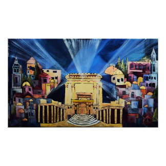 Temple of Jerusalem Poster