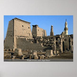 Temple of Luxor Luxor Egypt Desert Posters