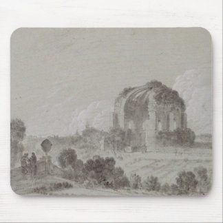 Temple of Minerva Medici, Rome, 1754 (drawing and Mouse Mat