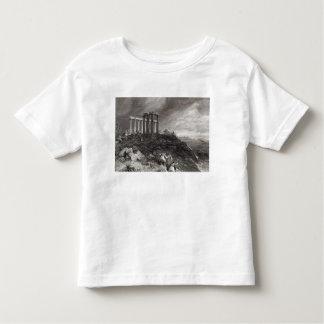Temple of Minerva Sunium, engraved by J. Saddler Toddler T-Shirt