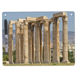 Temple of Olympian Zeus, Athens, Greece Dry Erase Board With Key Ring Holder