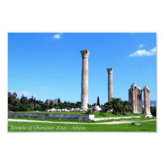 Temple of Olympian Zeus - Athens Photograph