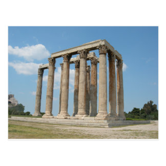Temple of Olympian Zeus (Athens) Postcard