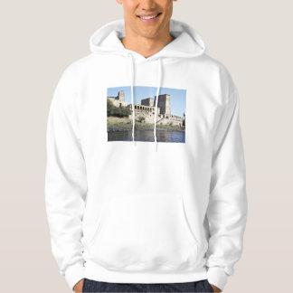 Temple of Philae Aswan, upper Egypt Desert Hooded Pullovers