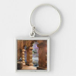 Temple of Poseidon Key Ring
