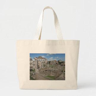 Temple of Saturn Forum Romanum Canvas Bag