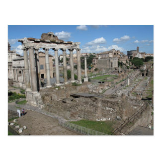 Temple of Saturn, Forum Romanum Postcard