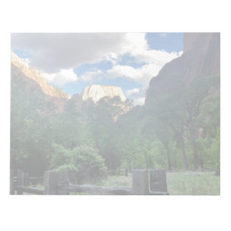 Temple of Sinawava Zion National Park Utah Notepads