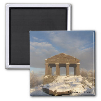 TEMPLE OF THE DONON SQUARE MAGNET