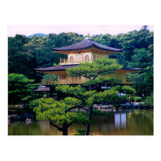 Temple of the Golden Pavilion, Kyoto, Japan Postcard