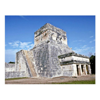 Temple Of The Jaguars, Chichen Itza Postcard