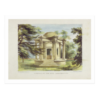 Temple of Victory Kew Gardens plate 19 from Kew Post Card