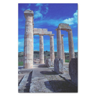 Temple of Zeus – Nemea Tissue Paper