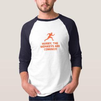 Temple Runners MENS RAGLAN T-Shirt