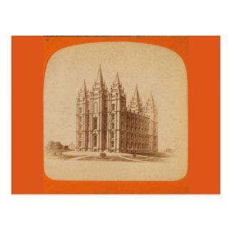 Temple Salt Lake City Postcard