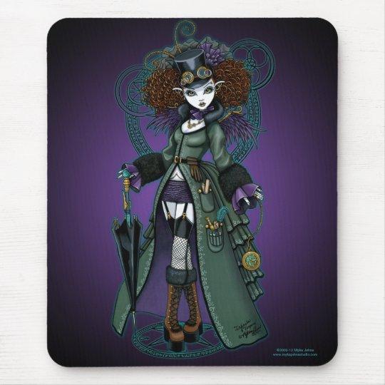 Temple Steampunk Time Traveller Vampire Mousepad