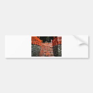 Temple Stone Far East Bumper Sticker